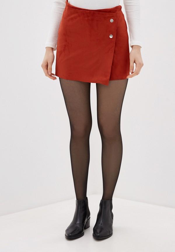 женские повседневные шорты koton, коричневые