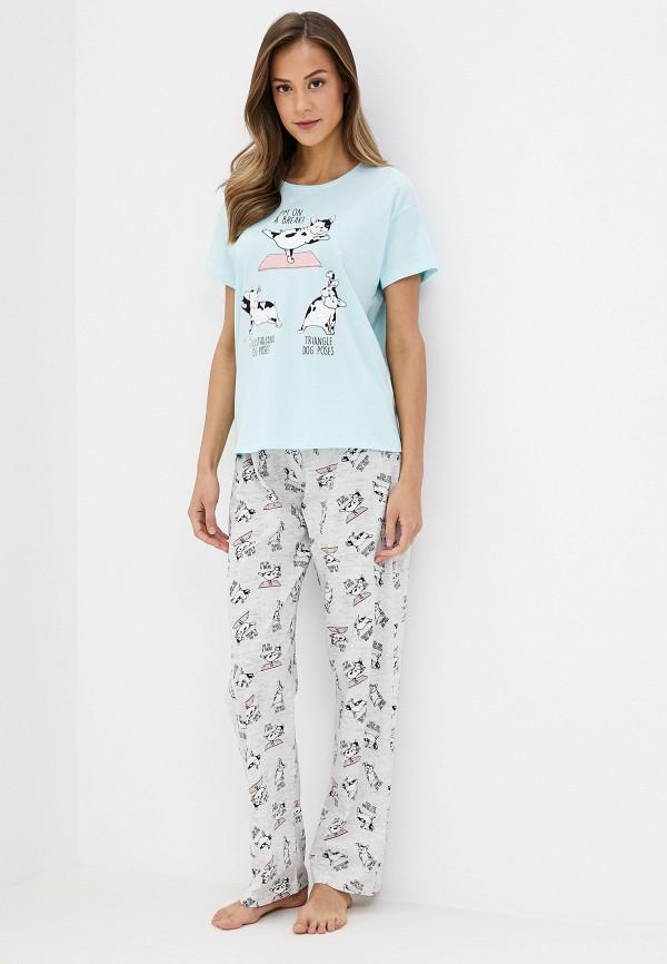 женская пижама koton, разноцветная