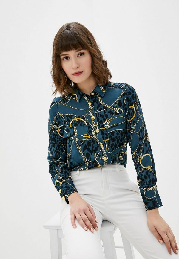 женская блузка koton, синяя