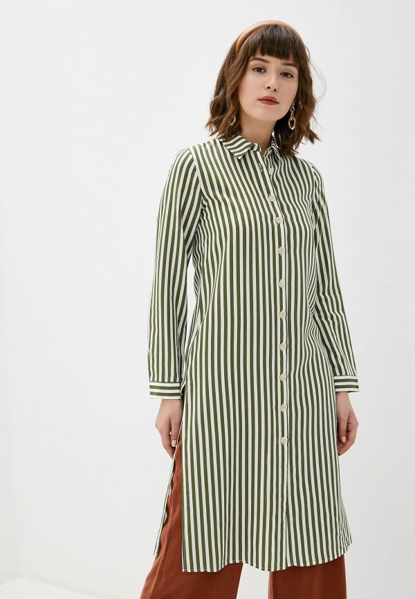 женское платье koton, хаки