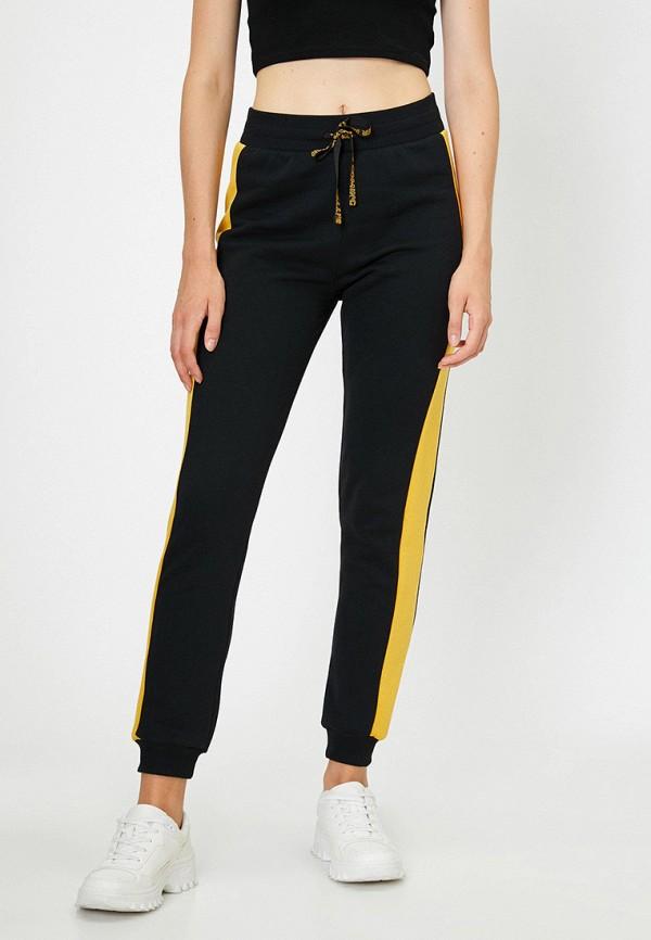 женские спортивные брюки koton, черные