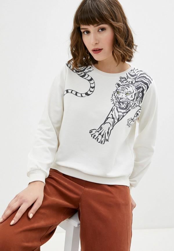 женский свитшот koton, белый