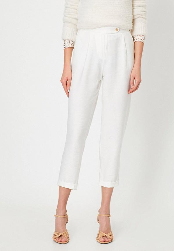 женские повседневные брюки koton, белые