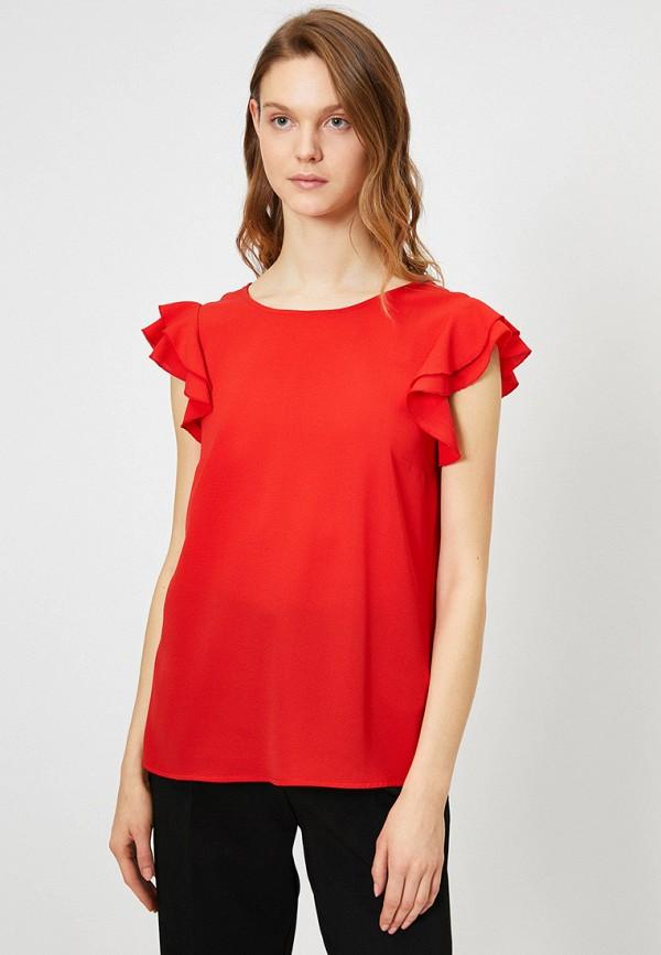 женская блузка koton, красная