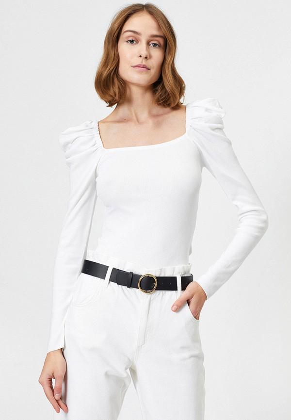 женский джемпер koton, белый