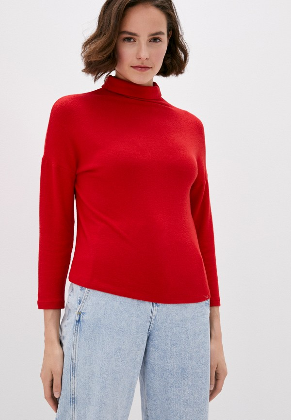 женская водолазка koton, красная