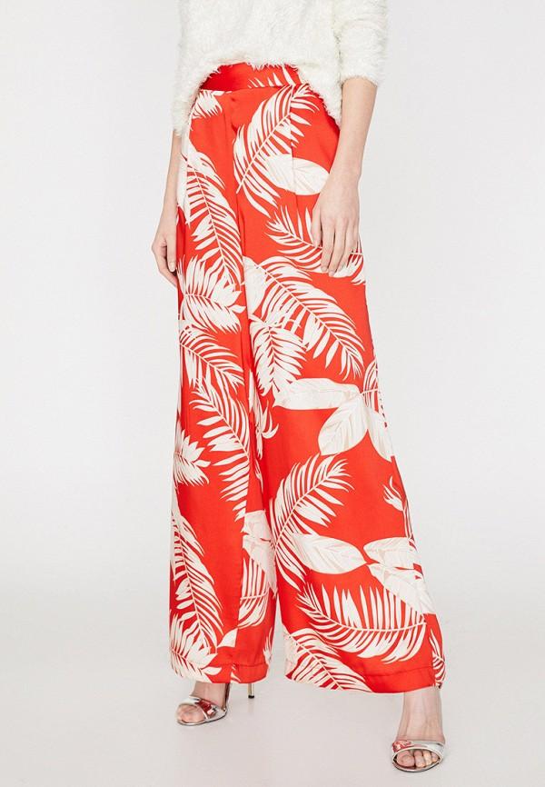 женские повседневные брюки koton, оранжевые