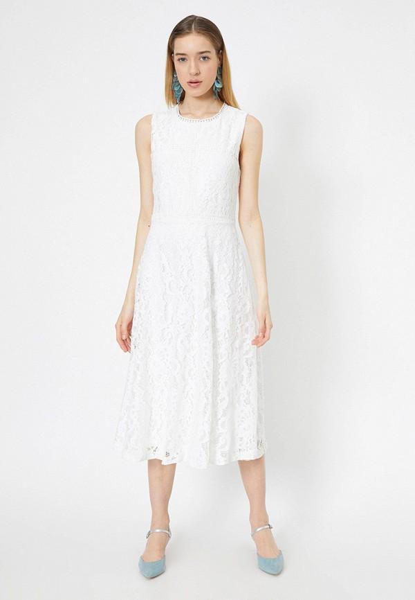 женское повседневные платье koton, белое
