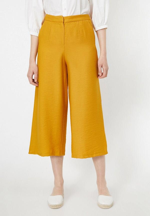 женские брюки koton, желтые