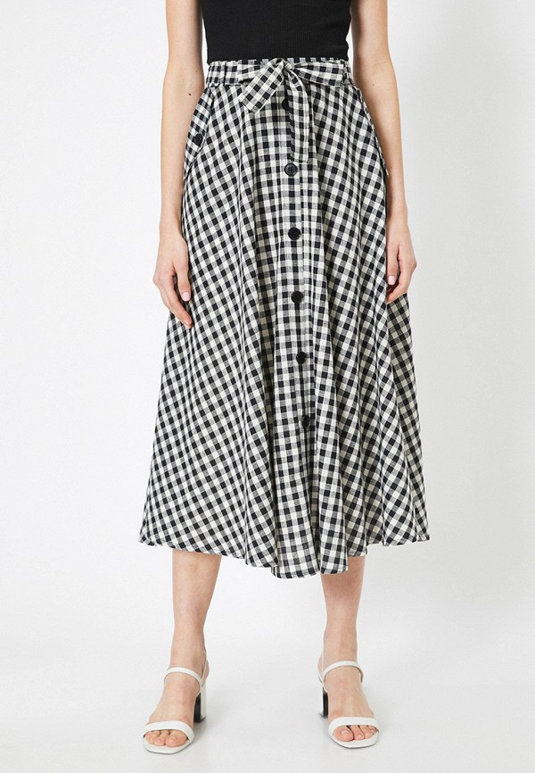 женская юбка koton, серая