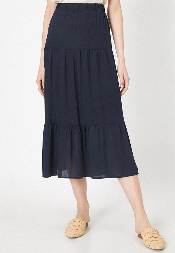 женская юбка koton, синяя