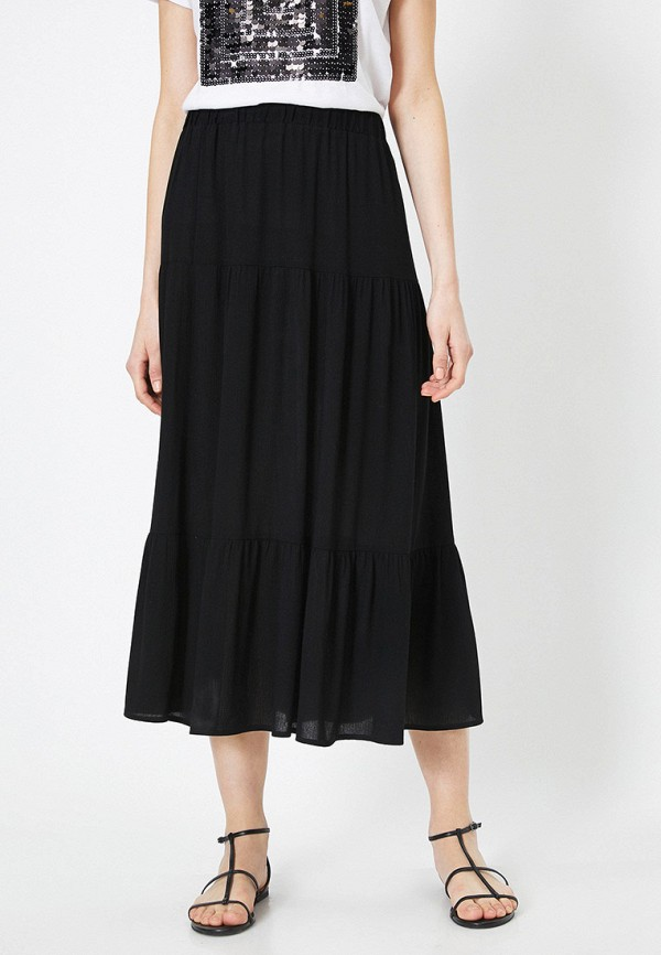 женская юбка koton, черная