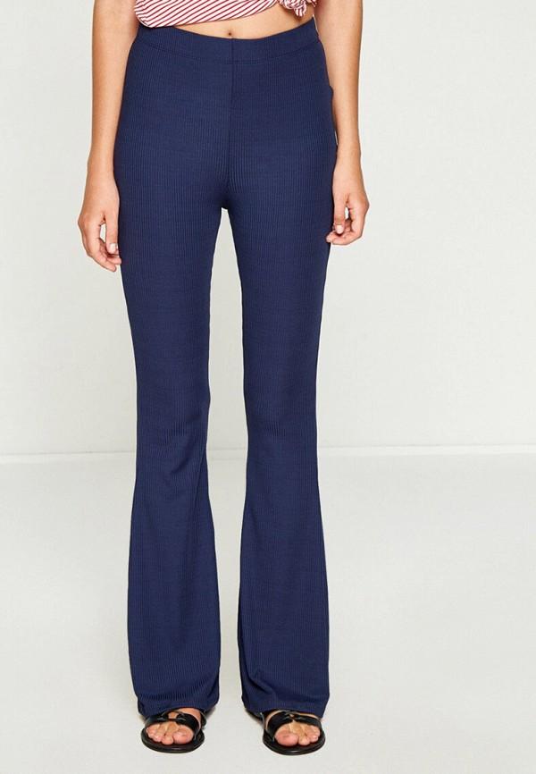 женские повседневные брюки koton, синие