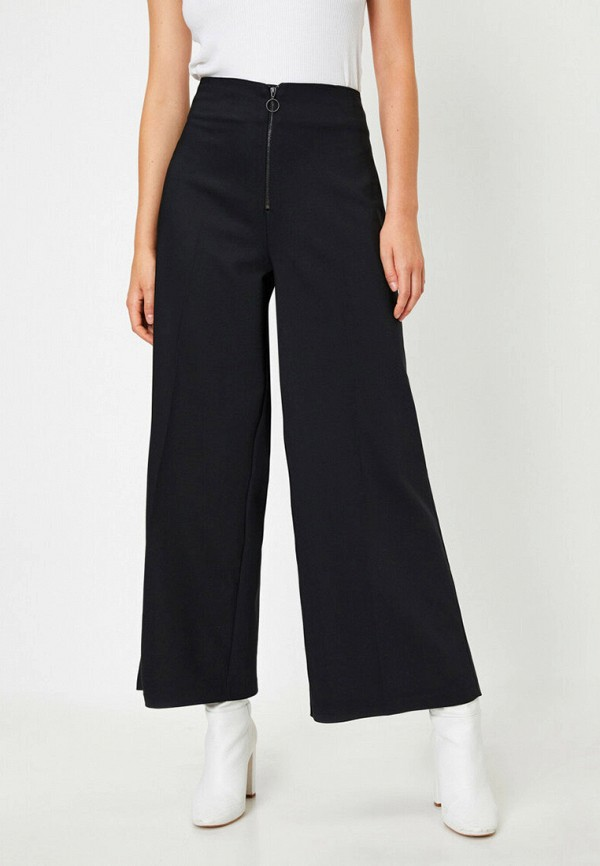 женские повседневные брюки koton, черные
