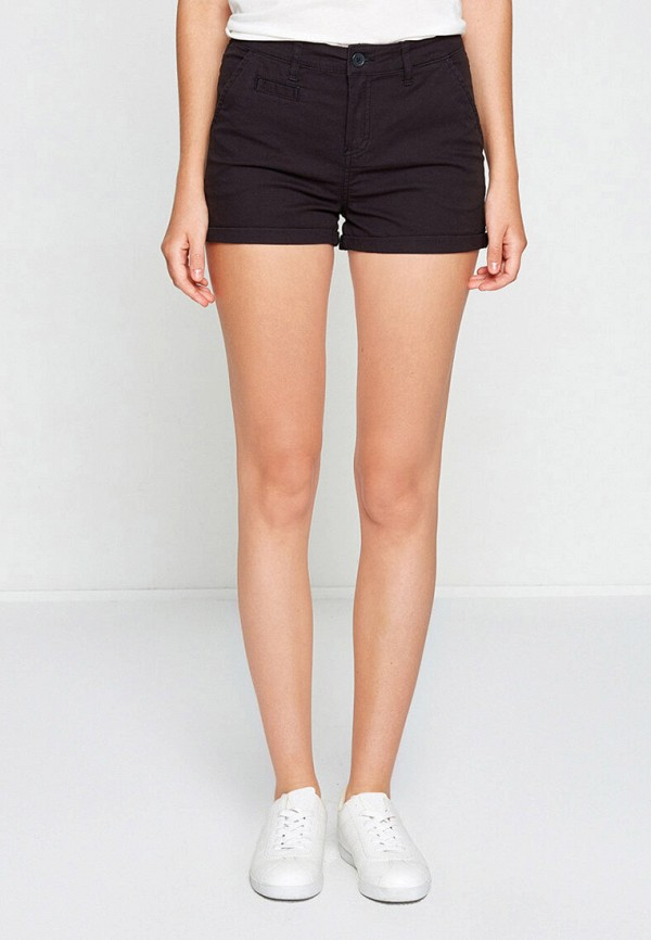 женские повседневные шорты koton, черные