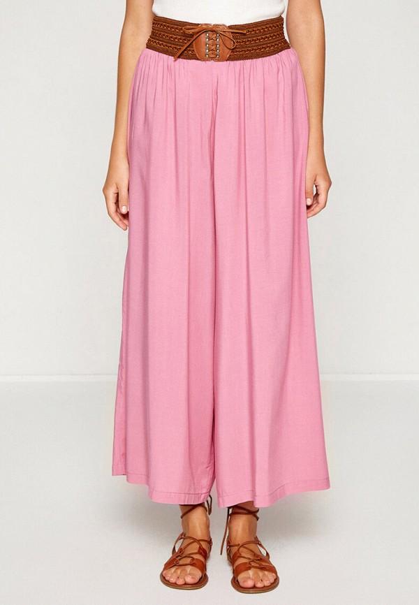 женские брюки koton, розовые