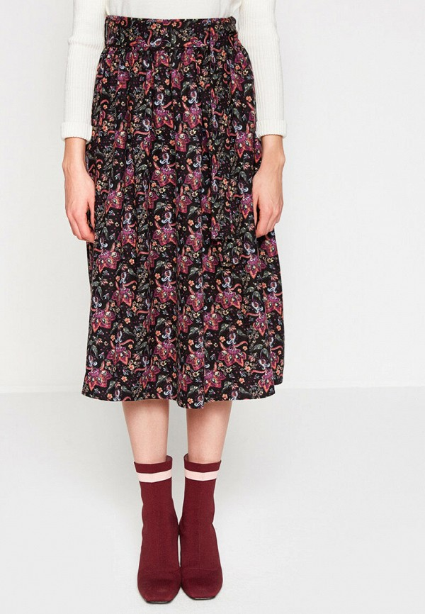 женская юбка koton, разноцветная