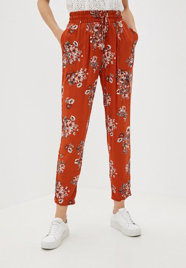 женские брюки koton, коричневые