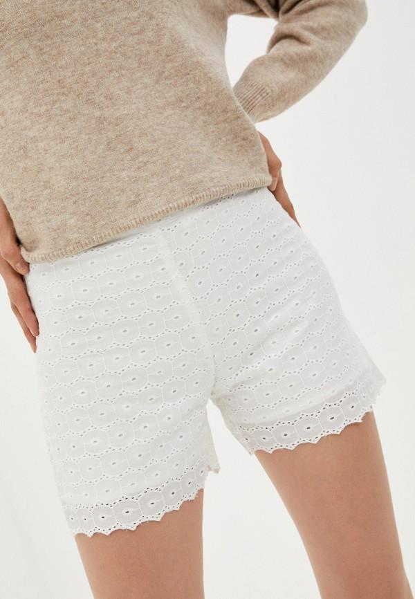 женские повседневные шорты koton, белые