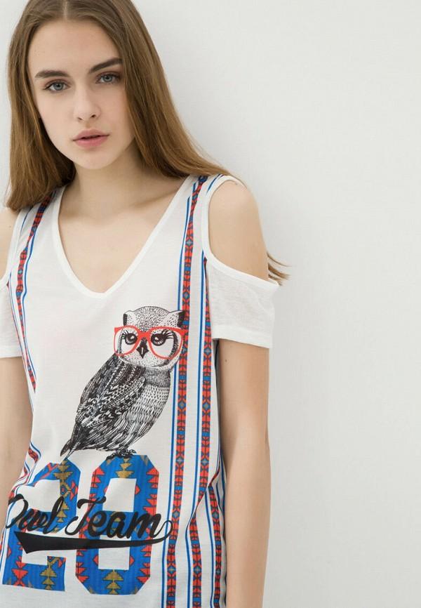 женская футболка koton