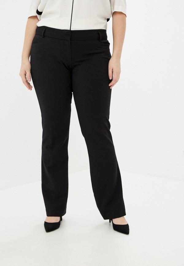 женские прямые брюки koton, черные