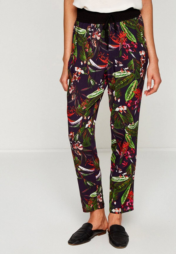 женские брюки koton, фиолетовые