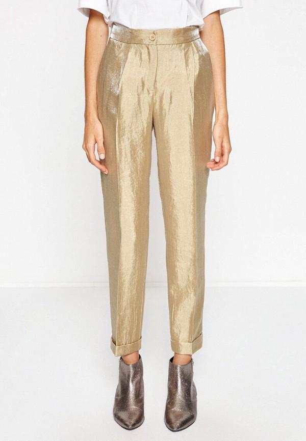 женские повседневные брюки koton, золотые