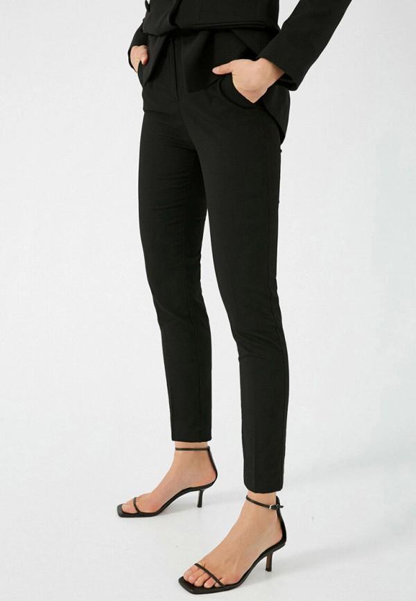 женские классические брюки koton, черные