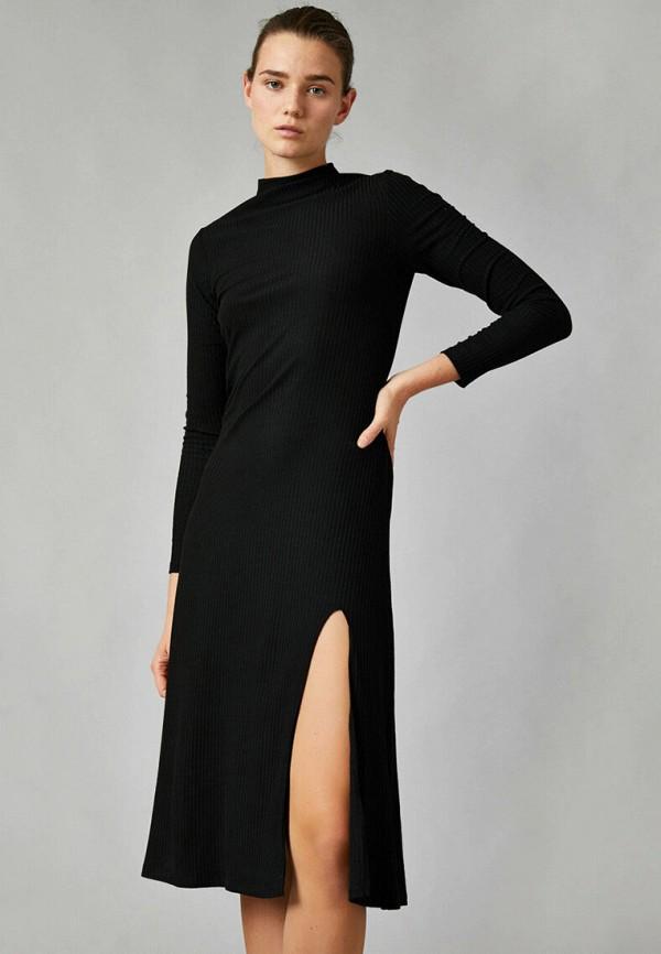 женское повседневные платье koton, черное