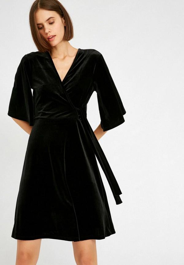 женское платье koton, черное
