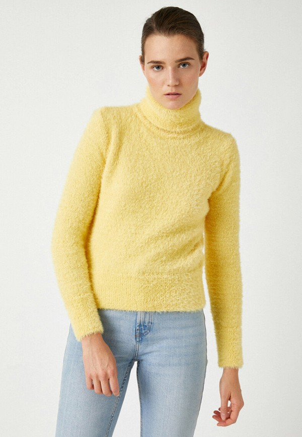 женский свитер koton, желтый