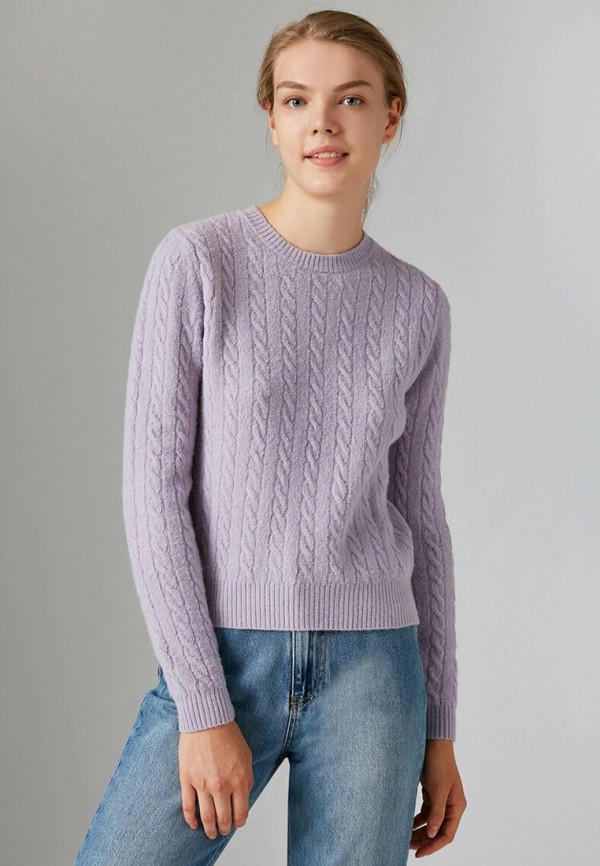 женский джемпер koton, фиолетовый