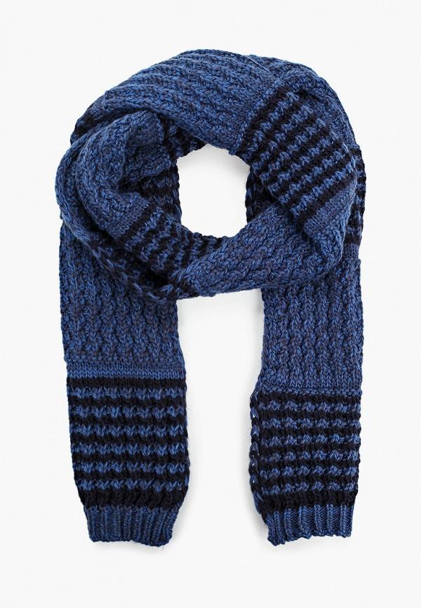 мужской шарф koton, синий