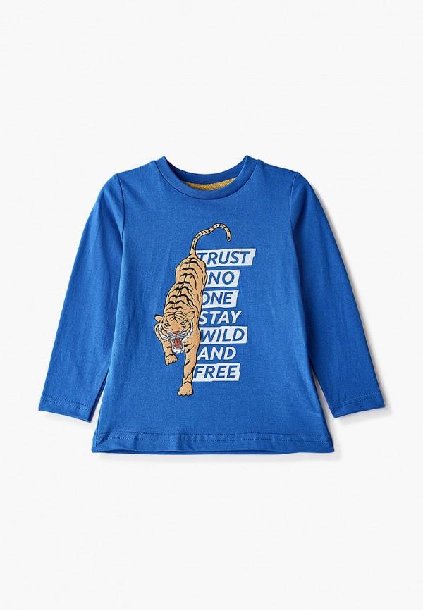 лонгслив котмаркот для мальчика, синий