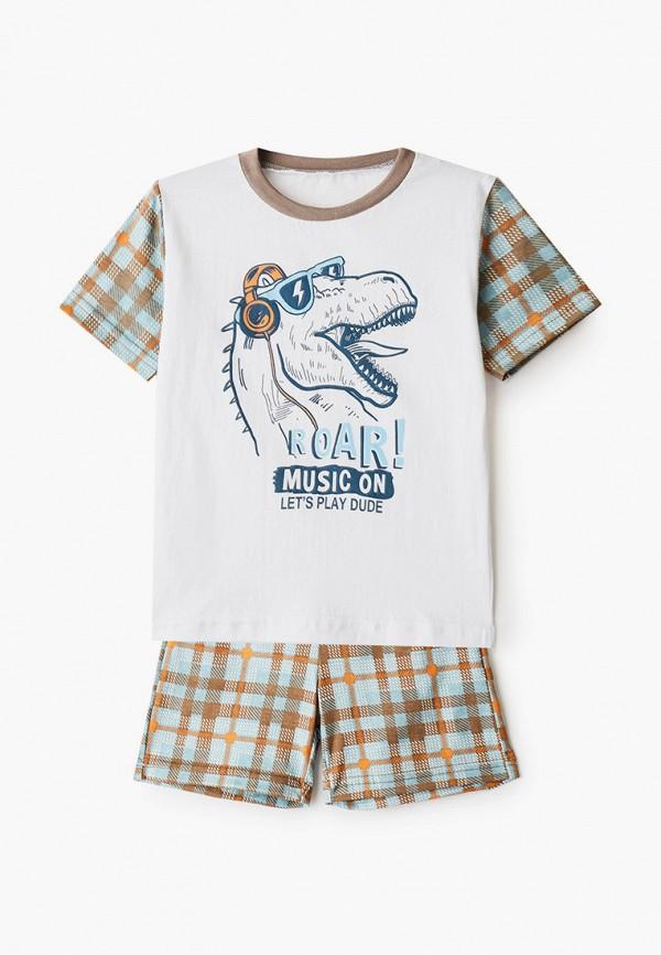 пижама котмаркот для мальчика, белая