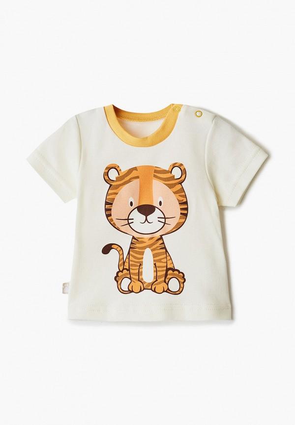 футболка с коротким рукавом котмаркот для мальчика, бежевая