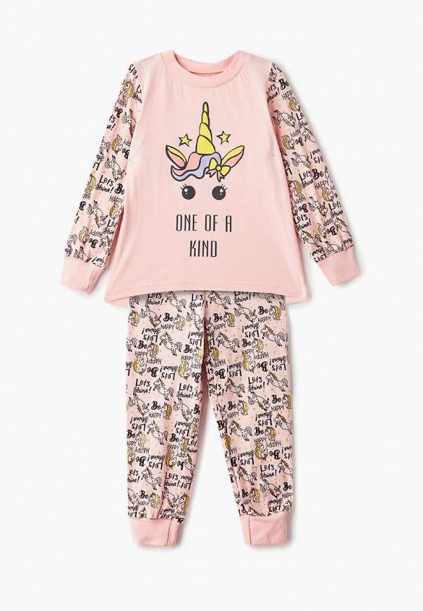 пижама котмаркот для девочки, розовая
