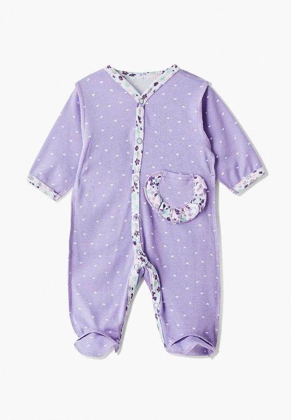 комбинезон котмаркот для девочки, фиолетовый