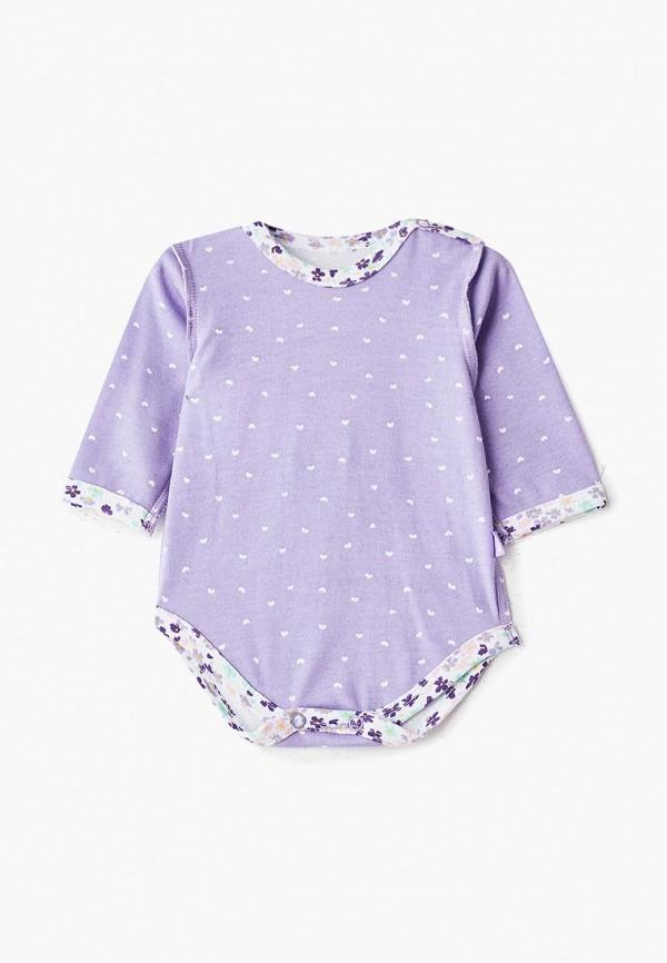 боди котмаркот для девочки, фиолетовые