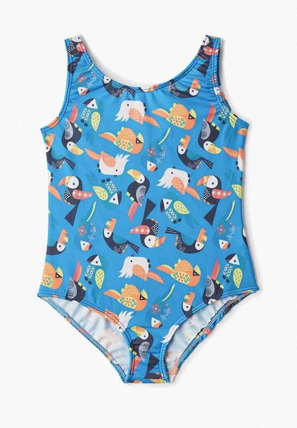 купальник котмаркот для девочки, синий