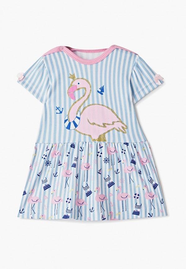 платье котмаркот для девочки, голубое