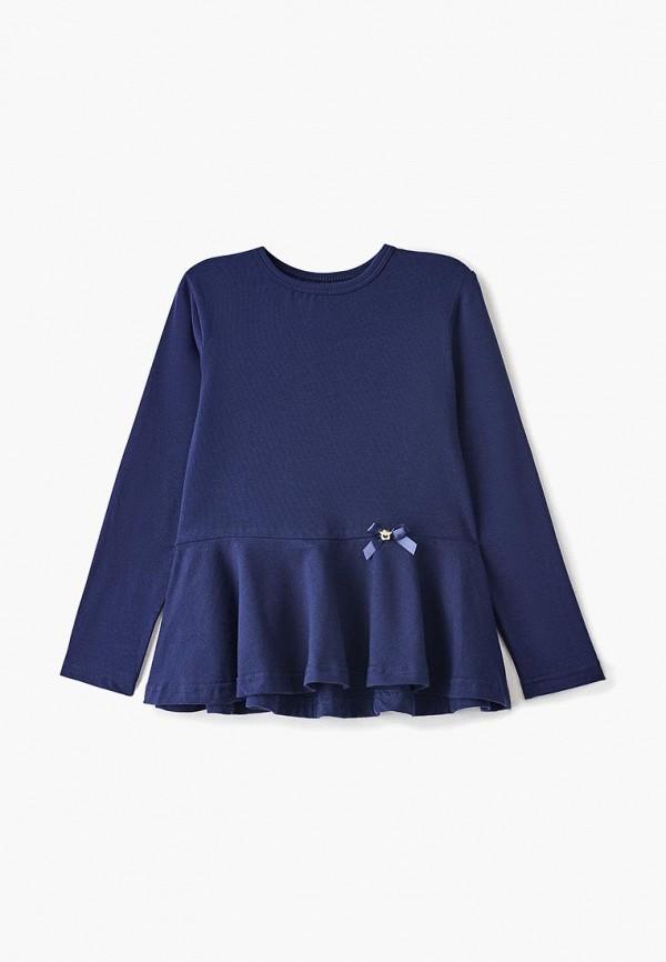 блузка котмаркот для девочки, синяя