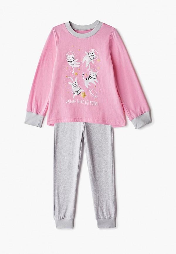 пижама котмаркот для девочки, разноцветная