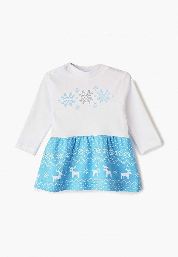 повседневные платье котмаркот для девочки, голубое
