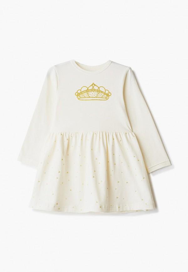 повседневные платье котмаркот для девочки, бежевое