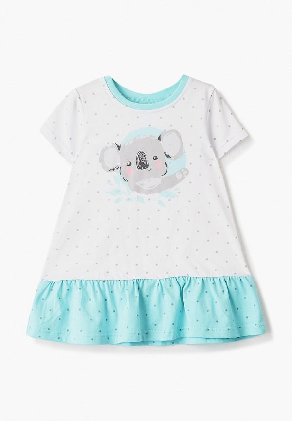 футболка с коротким рукавом котмаркот для девочки, белая