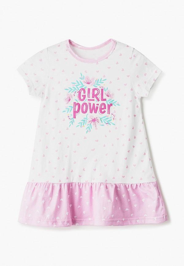 повседневные платье котмаркот для девочки, белое