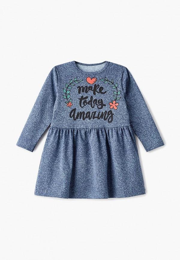 платье котмаркот для девочки, синее