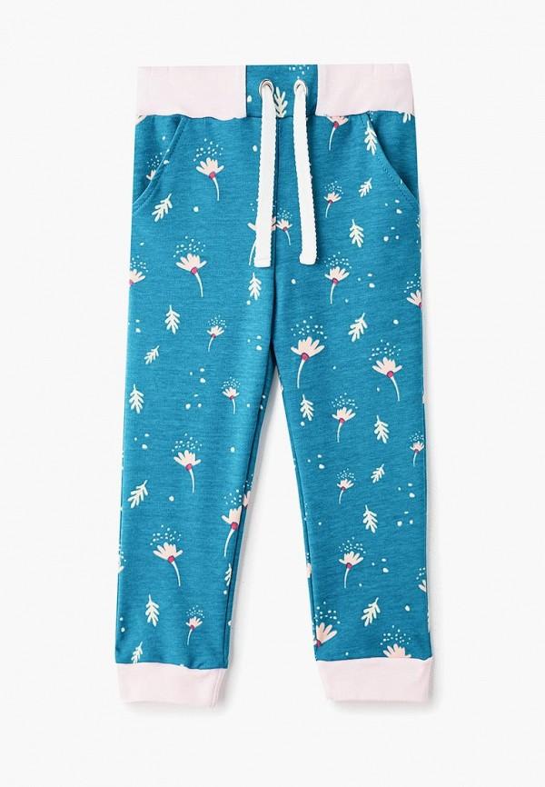 спортивные спортивные брюки котмаркот для девочки, бирюзовые