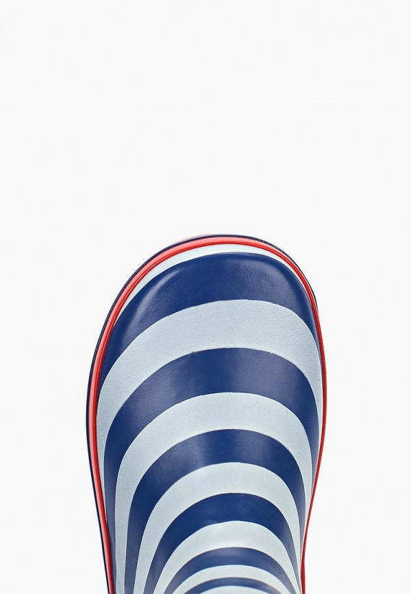 Фото 4 - Резиновые сапоги Котофей синего цвета